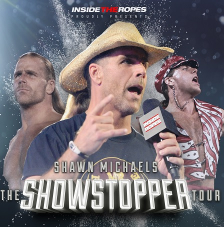 Shawn michaels insdie the ropes m4hsunfo Image collections